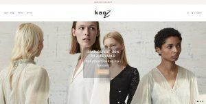 Kaoz store i Shopify